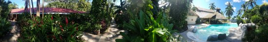 Bahia del Sol Beach Front Boutique Hotel: Panoramic from my front door.