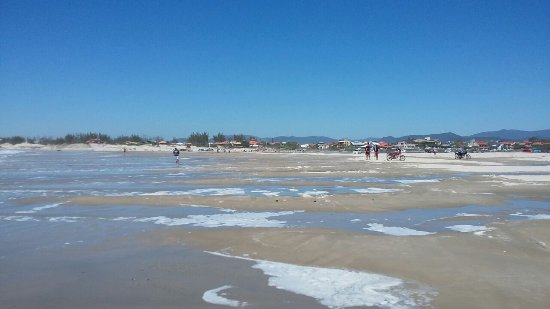 Praia de Ibiraquera Foto