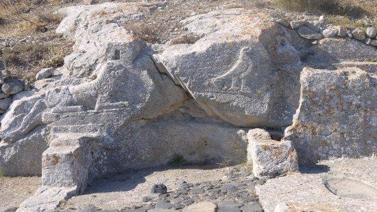 Ancient Thera : rilievi