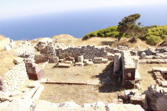 Ancient Thera : abitazioni