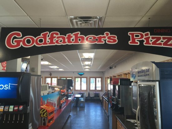 Godfather's Pizza: The BEST pizza