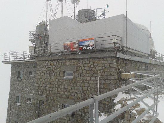 Vysoke Tatry, سلوفاكيا: Lomnicky peak
