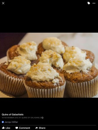 Galashiels, UK: Carrot Cakes
