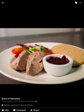 Galashiels, UK: Kitchen made Parfait