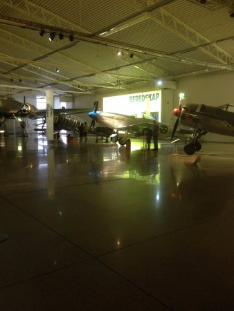 The Swedish Air Force Museum: Inside the museum