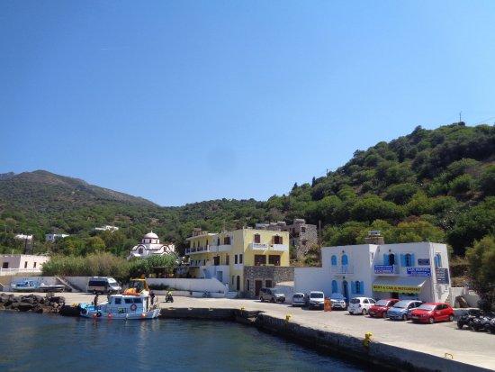 Mandraki, Griechenland: port