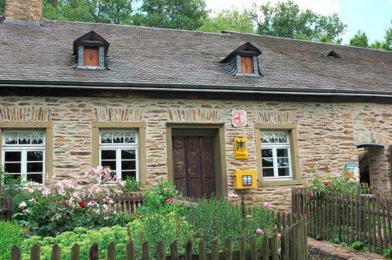 Rheinland-Pfalzisches Freilichtmuseum (open air museum): Die alte Postelle I