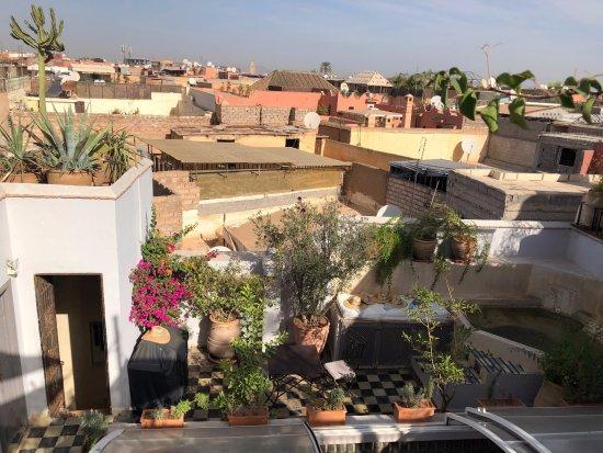 Riad Princesse Jamila : vu de la terasse