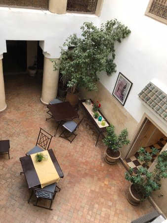 Riad Princesse Jamila : le patio