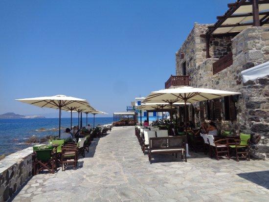 Mandraki, Griechenland: można odetchnąć od upału...