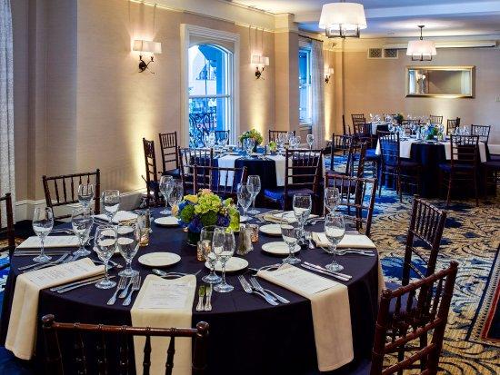 Lenox Hotel: Heritage Room - Banquet Style