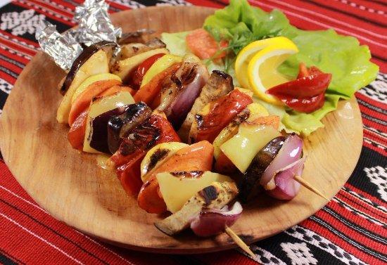 Vatra: Grilled vegetables