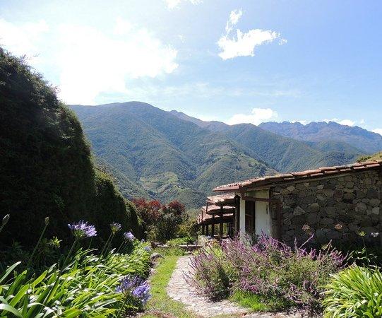 Andean Region, فنزويلا: Esta es la vista desde las habitaciones hacia la cordillera Andina!
