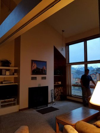 Dillon, CO: Out the living room area