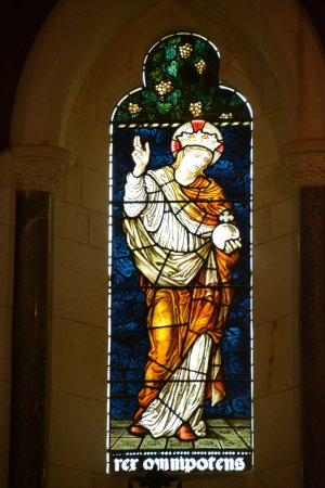 Norfolk Island, Australia: One of the Stain Glass windows