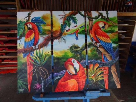 Sarchi, Costa Rica: More craftsmanship