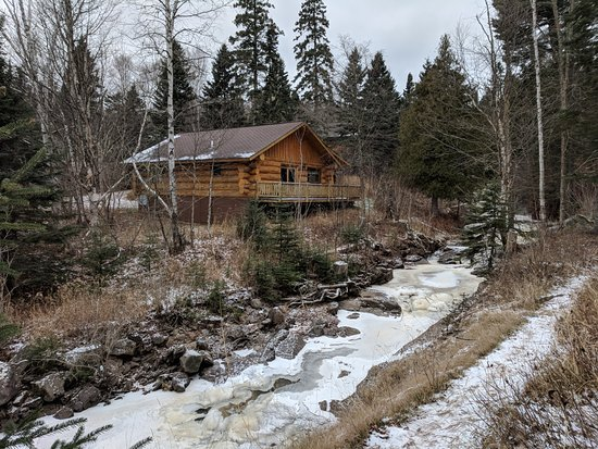 Lutsen, MN: Cabin 12 right on the creek...