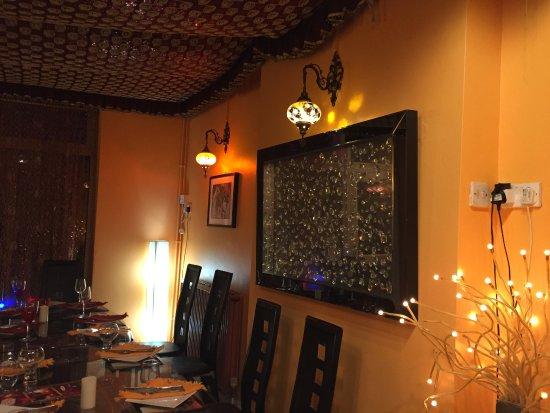 Indiana Cuisine : Decor inside restaurant