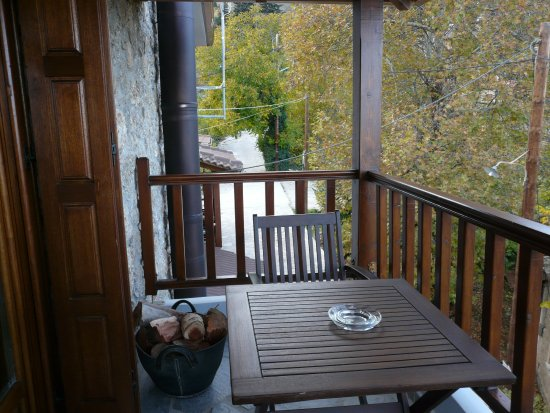 Trikala, Greece: Tha balcony