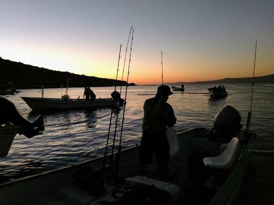 Tailhunter International Sportfishing: Heading out before sunrise.