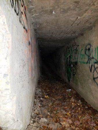 Nyack, NY: first tunnel runs 1/4 mile long