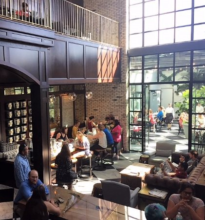 TeBella Tea Company: Located near the glass-roofed restaurant in the Oxford Exchange Building