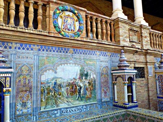 azulejos picture of plaza de espana seville tripadvisor On azulejos spain