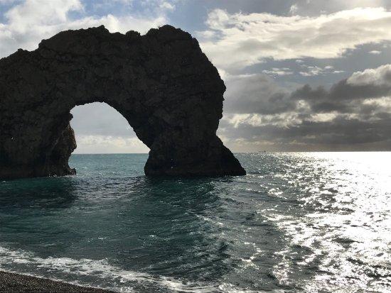 West Lulworth, UK: Jurassic Coast highlight
