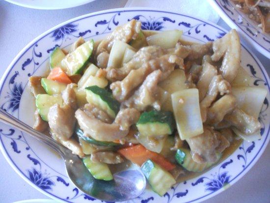 Keaau, Hawái: curry chicken