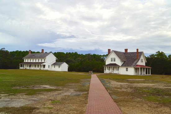 Hatteras Tours: Cape Hatteras light keepers houses