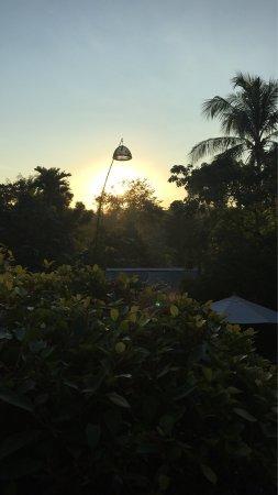 My Dream Boutique Resort: Sonnenuntergang von der Hotel Terrasse aus 😊