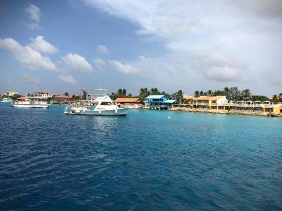 Kralendijk, Bonaire: the port area