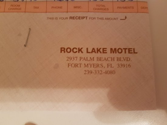 Rock Lake Resort: 20171112_190207_large.jpg