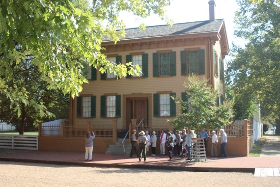 Lincoln Home National Historic Site: Linclon House