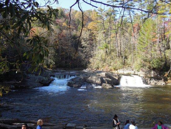 Linville Falls, NC: Linnville Falls Oct. 2017