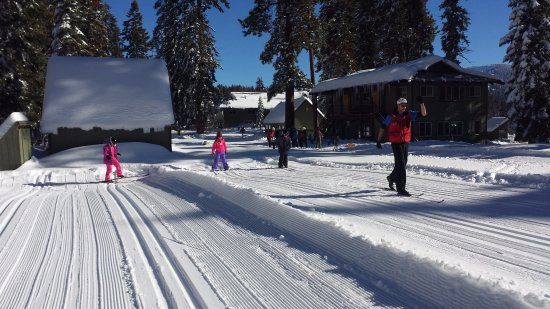 Montecito Sequoia Lodge & Summer Family Camp: Winter XC Ski Instruction & Kids' Club