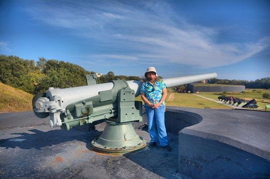 Sullivan's Island, SC: small guns