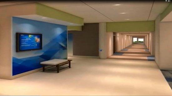 Lenexa, KS: Hallway