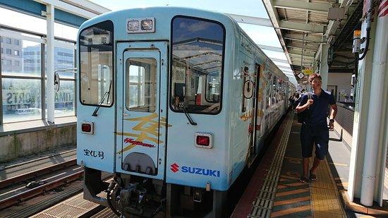 Wakasa-cho, Jepang: 若桜鉄道車両