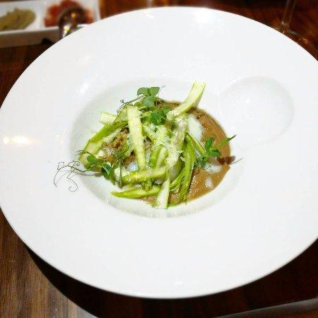 asparagus and mushroom