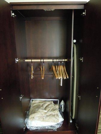 Abingdon, VA: Wardrobe with low clothes rod