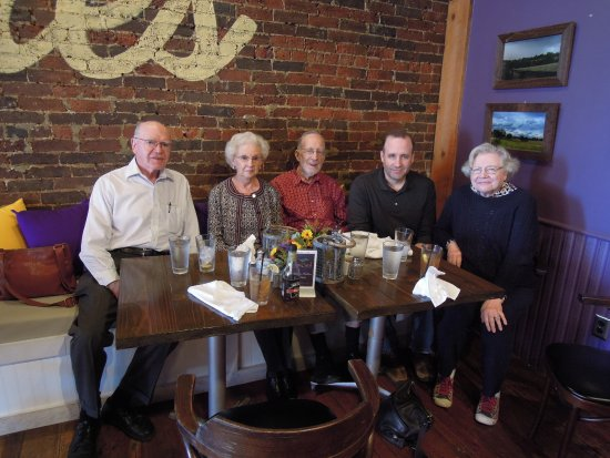 Culpeper, VA: Our lunch group