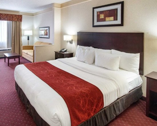 Mineral Wells, Virginia Barat: Suite with king bed