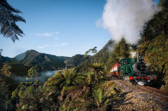 West Coast Wilderness Railway: Rack...
