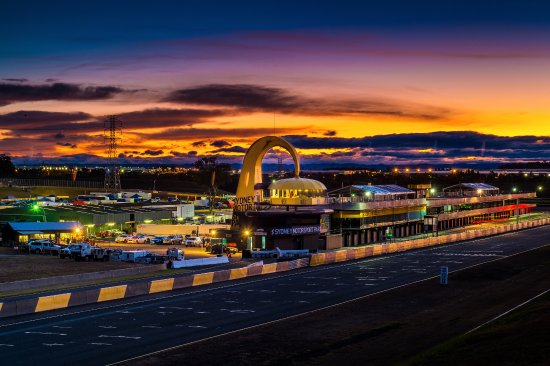 Eastern Creek, Australia: SMSP At Night