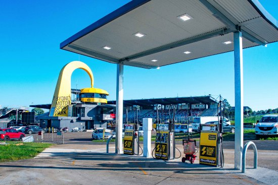 Eastern Creek, Australië: On-site card fuel service