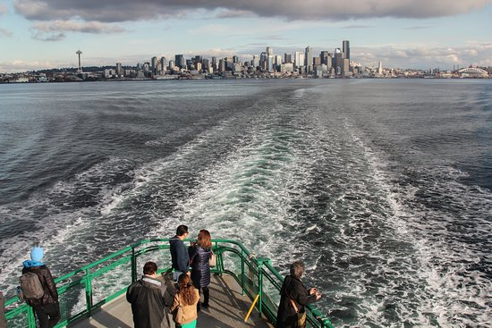 Washington State Ferries: Afternoon picture