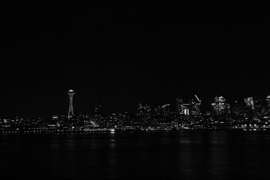 Washington State Ferries: Night Picture