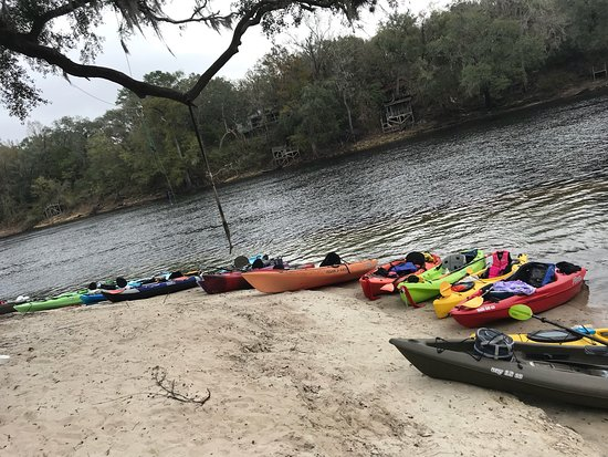 Mayo, Флорида: Suwannee River Rendezvous Resort & Campground