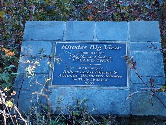 Cashiers, NC: Rhodes Big View Overlook